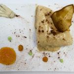 Dessert : Ephémère poire/chocolat accompagné de douceurs poti'poire